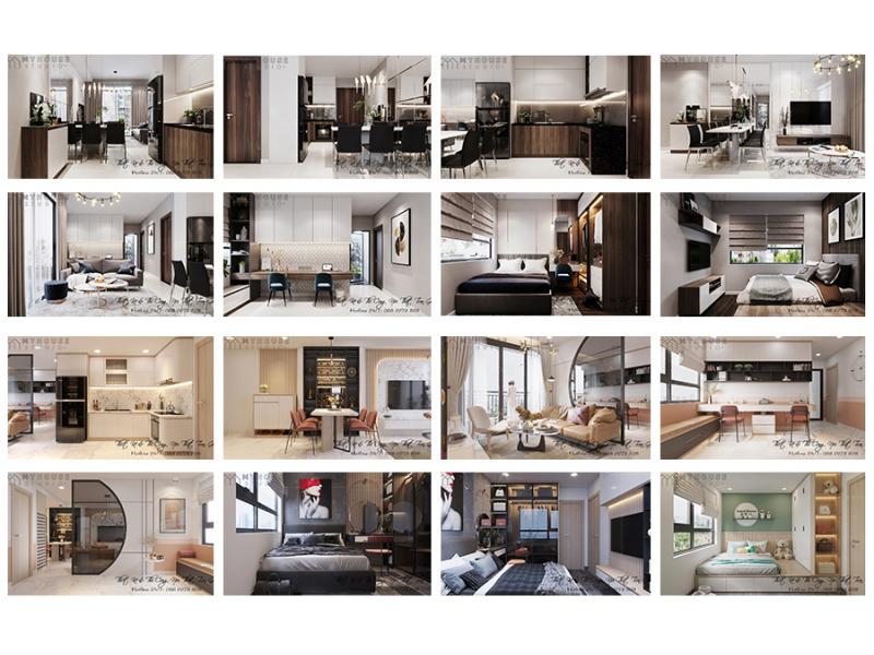 [Tin Tức My House Studio+ ] Thiết Kế Nội Thất Căn Hộ Vinhomes Grand Park Quận 9