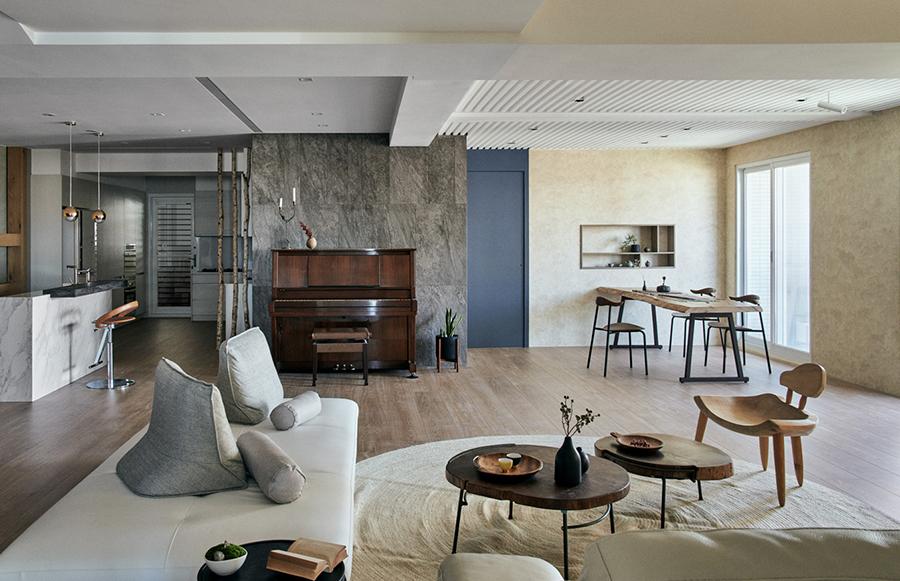 [Tin Tức My House Studio+ ] Chất Zen ngọt ngào xếp gọn trong căn hộ yên bình