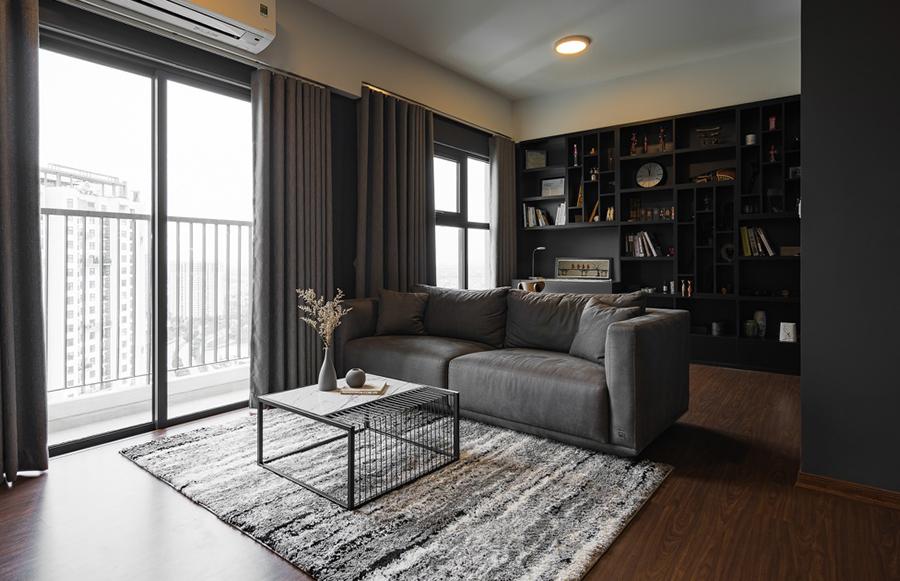 [Tin Tức My House Studio+ ] Căn hộ tông đen của anh chàng độc thân với chi phí 250 triệu đồng